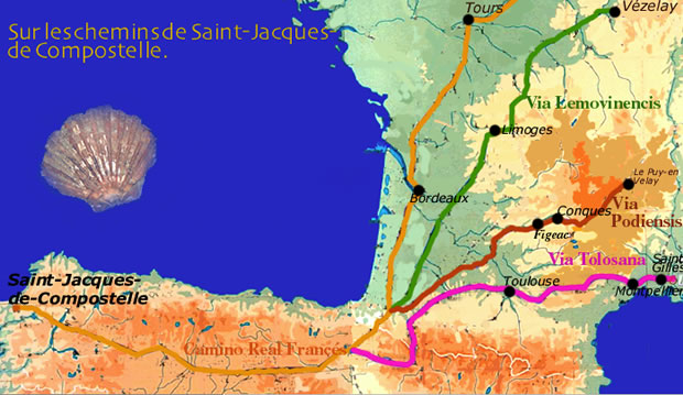 carte chemin
