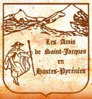 Logo des Amis de Saint Jacques en Hautes Pyrenées